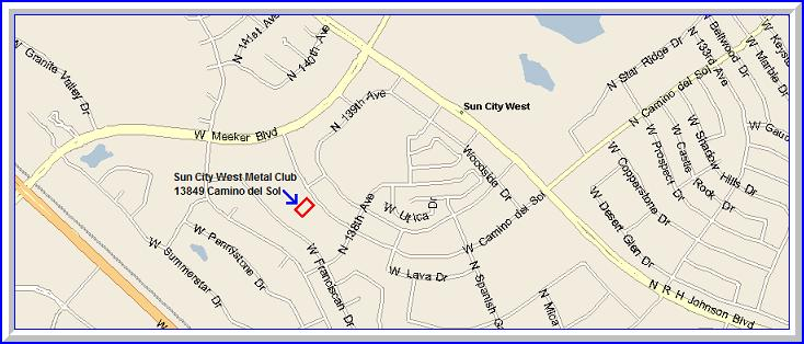 SCW Metal Club Map Image